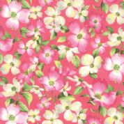 Moda - Sakura Park - 7182 - Dark Pink Cherry Blossom - 33480-17 - Cotton Fabric